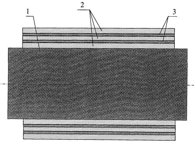 Высокотемпературное теплоизоляционное покрытие для стальных трубных элементов