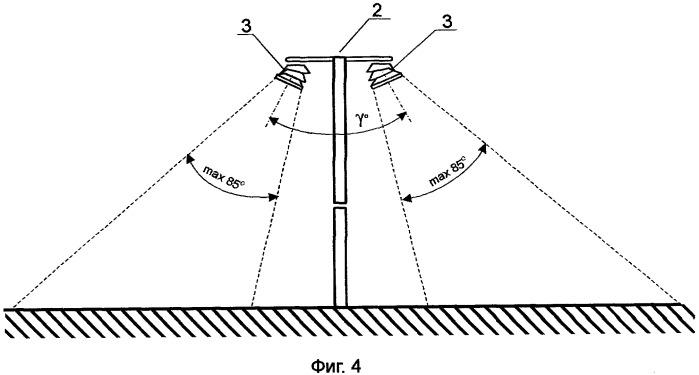 Способ наружного освещения, устройство для осуществления способа и светодиодный модуль для этого устройства