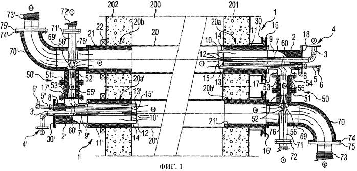 Способ и устройство радиационного нагрева промышленной печи