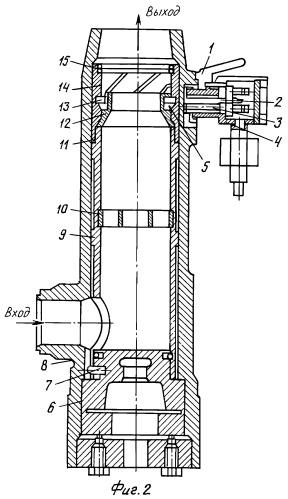 Способ установки первичного преобразователя шарикового расходомера