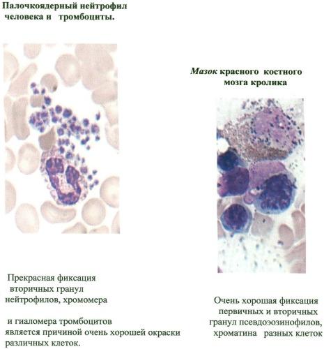 Композиция для фиксации гематологических и цитологических препаратов