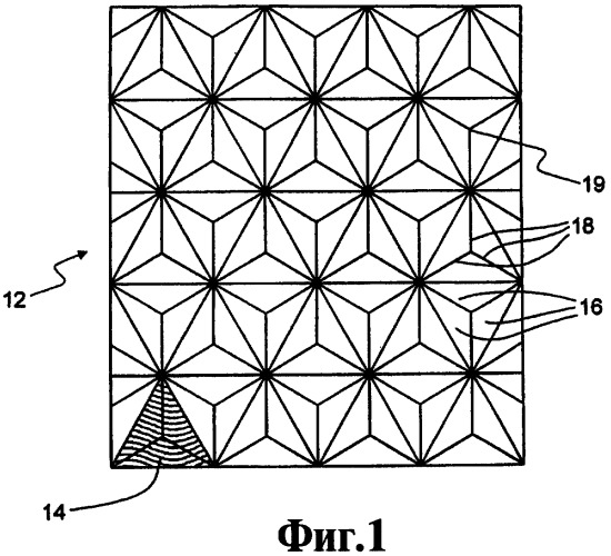 Способ изготовления решетки оптических элементов (варианты), содержащее ее изделие и способ его изготовления