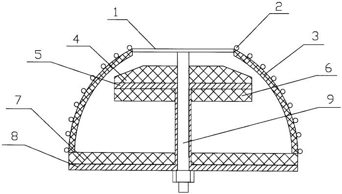 Сверхширокополосная спиральная антенна