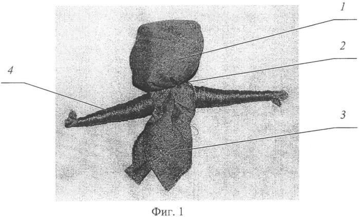 Способ изготовления текстильной куклы (варианты)
