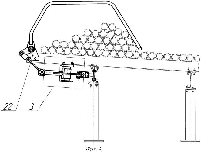 Устройство для разборки пакета длинномерных цилиндрических изделий
