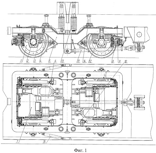 Тележка рельсового транспортного средства