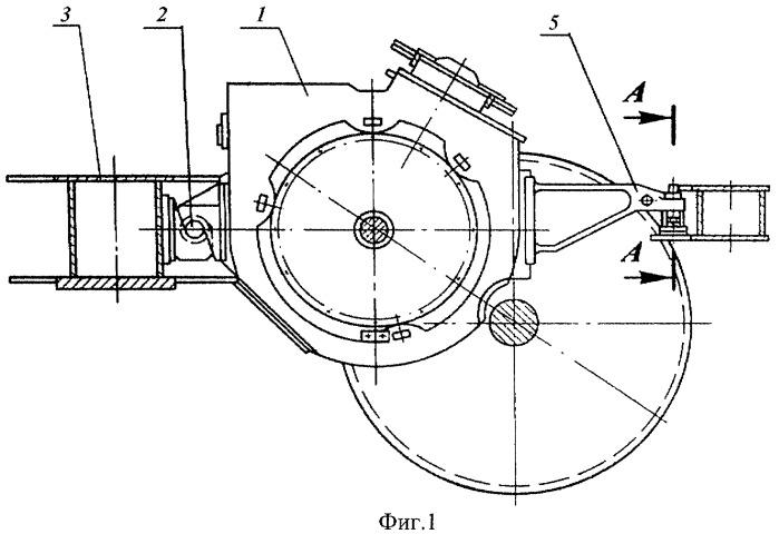 Подвеска тяговых электродвигателей железнодорожного транспортного средства