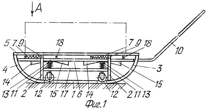 Транспортное средство, преобразуемое с санного хода на колесный