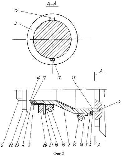 Устройство для непрерывного автоматического регулирования схождения управляемых колес автотранспортного средства в движении