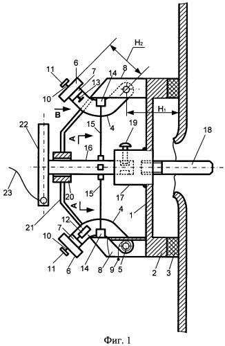 Устройство для временной заделки пробоин и трещин в заполненных жидкостью стальных резервуарах