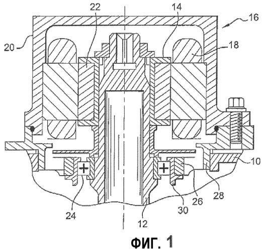 Коробка приводов агрегатов авиационного двигателя, такого как турбореактивный двигатель