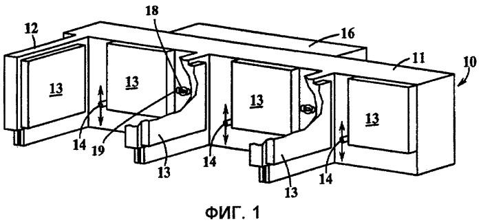Выталкивающее устройство автомата для изготовления бутылок
