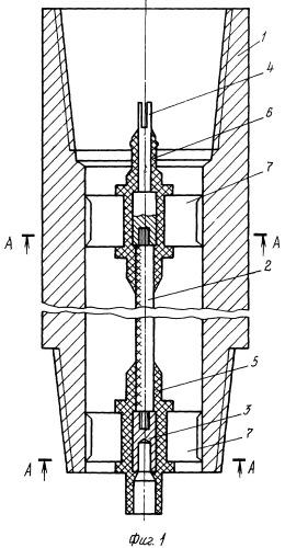 Линия связи для забойных телеметрических систем контроля параметров бурения