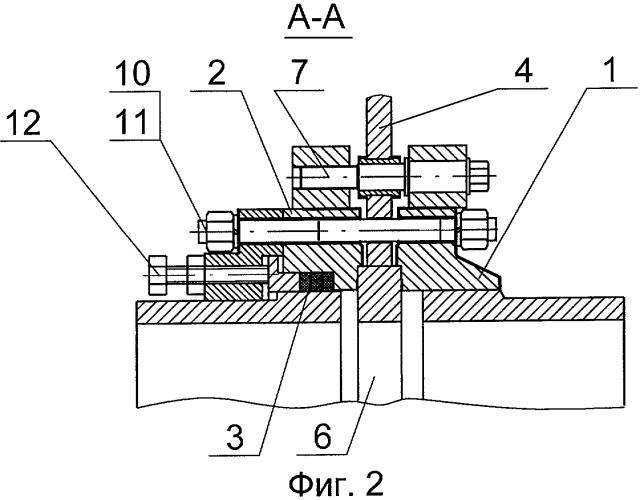 Устройство для перекрытия трубопровода