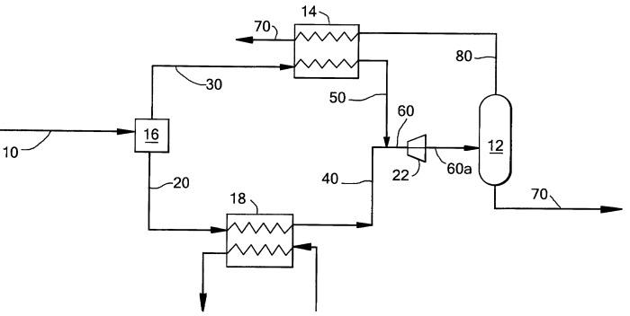 Способ для сжижения потока углеводородов и установка для его осуществления