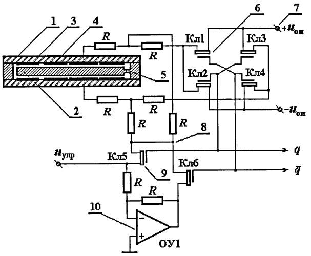 Электростатический акселерометр