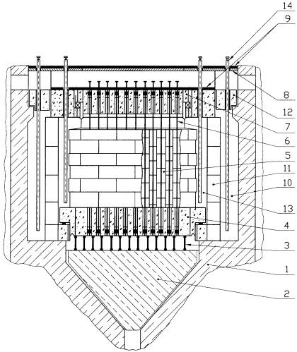 Способ хранения уран-графитового реактора