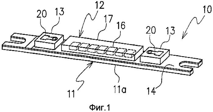 Монтажная панель для электронного компонента