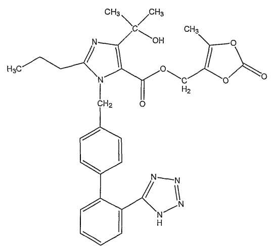 Твердая лекарственная форма олмезартана медоксомила и амлодипина