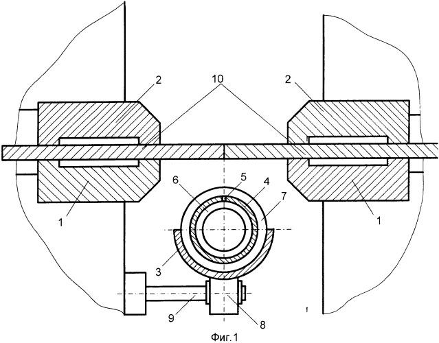 Способ контактной стыковой сварки оплавлением полос с подачей защитного газа в зону сварки и устройство для его осуществления