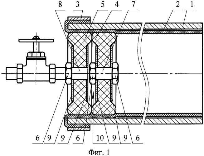 Способ облицовки внутренней поверхности металлической трубы полимерным рукавом