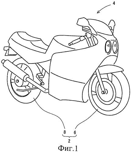 Пара шин для двухколесного мотоцикла