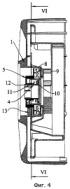 Упругая катушка для перематывания шланга с устройством автоматического затормаживания