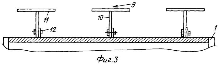 Конструкция для установки кабеля на внешних поверхностях крана