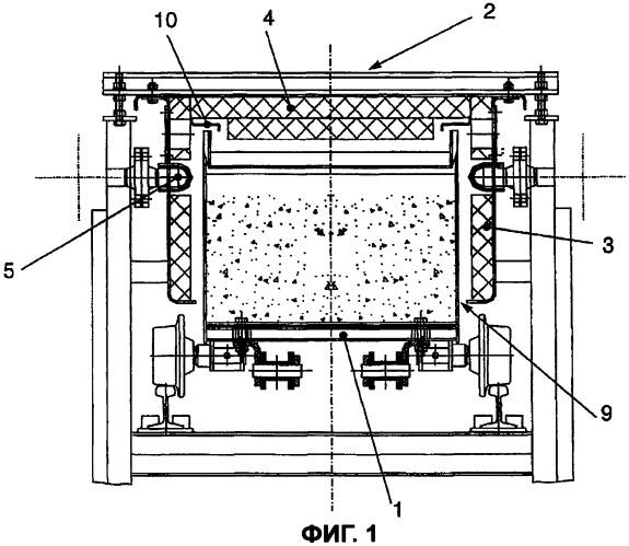 Конвейерная установка, комбинация устройств и способ соединения металлургических процессов