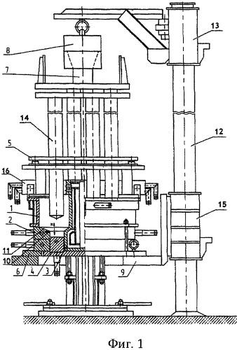Способ электрошлаковой выплавки полого слитка