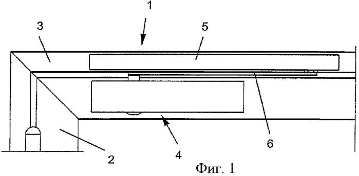 Привод створки двери или окна