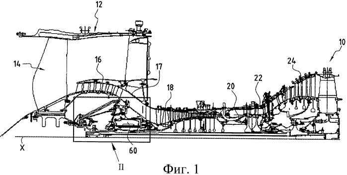 Турбореактивный двигатель, оснащенный встроенным генератором электрического тока