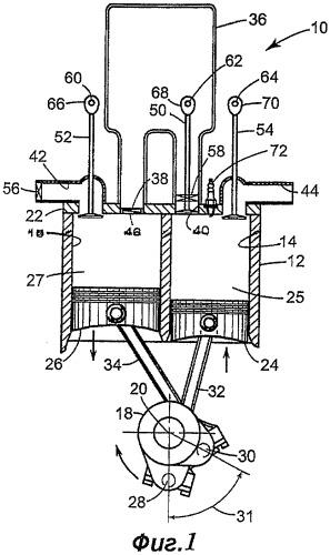 Воздушный гибридный двигатель с расщепленным циклом (варианты)