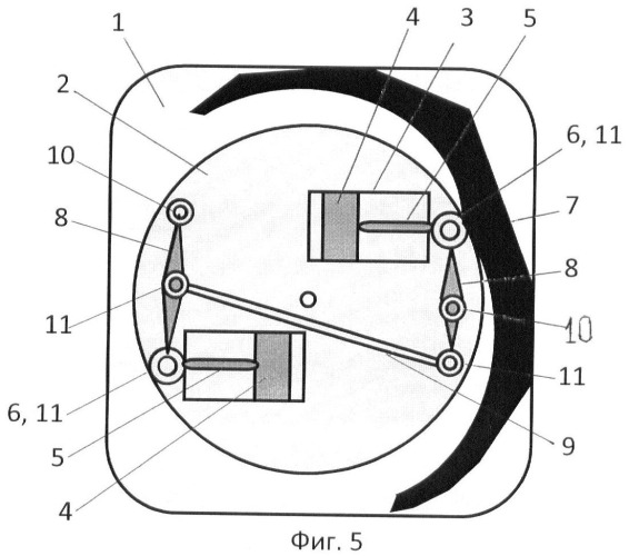Роторно-поршневой двигатель внутреннего сгорания шатрова п.л.