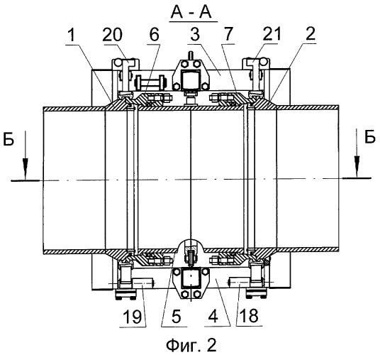Люк-лаз трубопровода