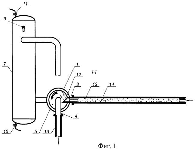 Устройство удаления воздушных пробок из магистрального нефтепродуктопровода