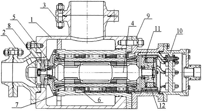 Агрегат детандер-генераторный