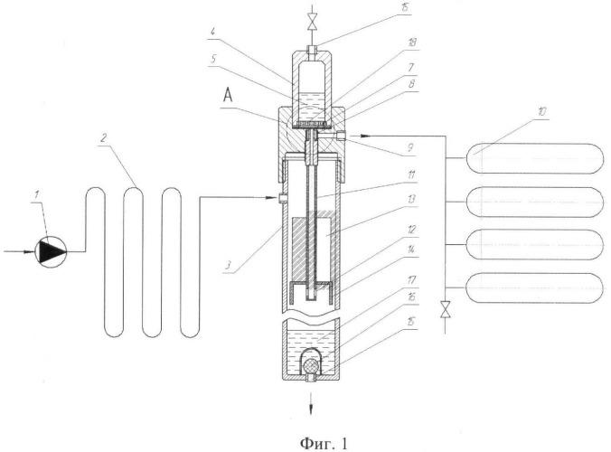 Устройство для разделения биогаза на метан и двуокись углерода