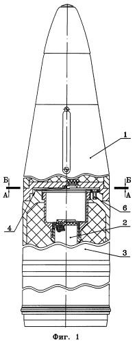 Управляемый артиллерийский снаряд