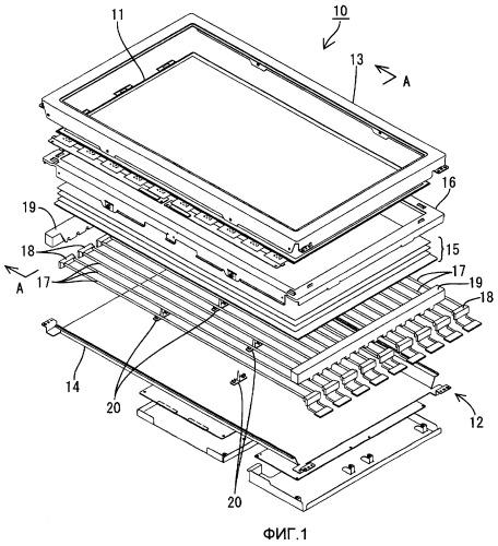 Жидкокристаллическое дисплейное устройство и способ его изготовления