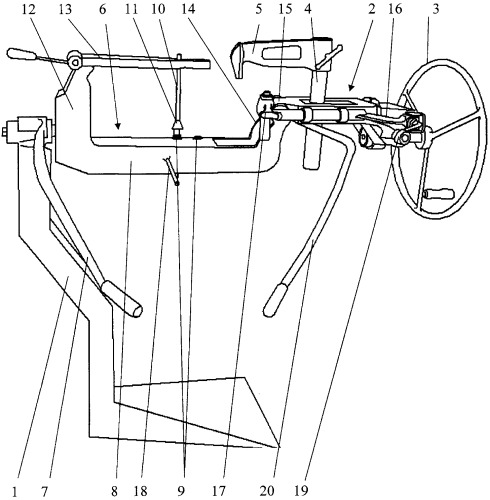 Стенд для правки дисков колес мотоциклов, мопедов и мотороллеров