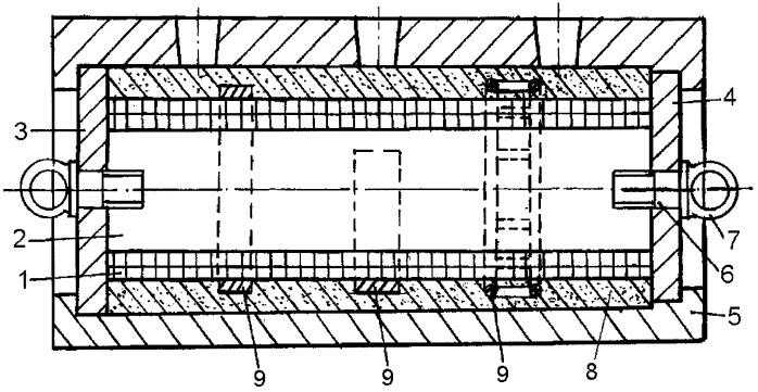 Способ изготовления группы литейных магнитных стержней разного вида