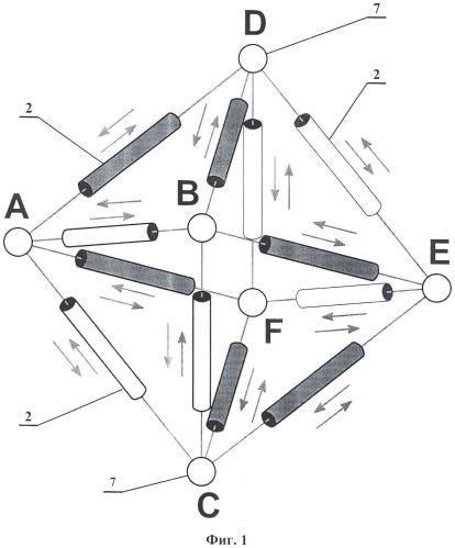 Адаптивный мобильный пространственный робот-манипулятор и способ организации движений и контроля физико-механических свойств и геометрической формы контактируемой поверхности и траектории перемещения с его помощью