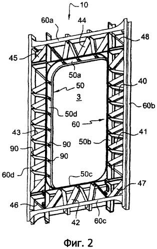 Дверное обрамление для летательного аппарата