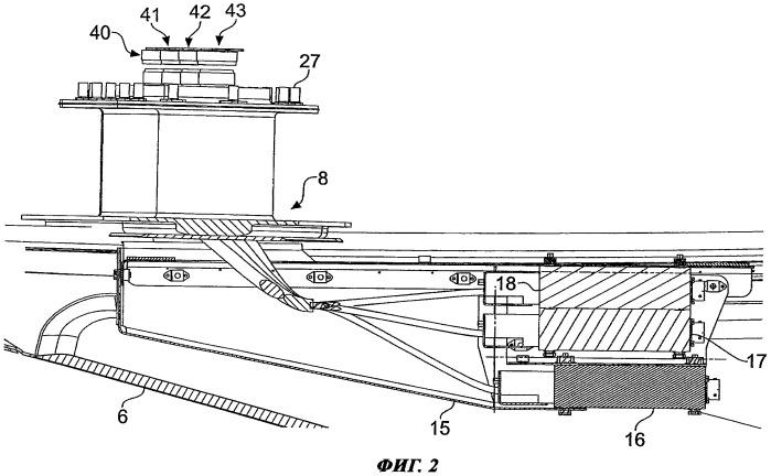 Устройство для соединения проводки на воздушном судне
