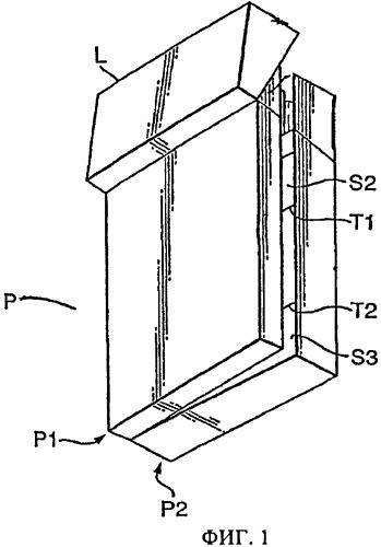 Аппарат и способ упаковки курительных изделий