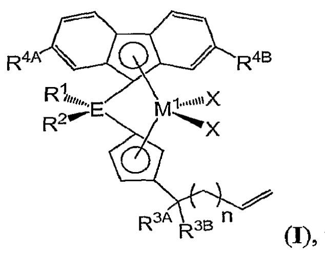 Катализаторы полимеризации для получения полимеров с низкими уровнями длинноцепной разветвленности