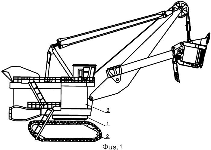 Опорно-поворотное устройство карьерного экскаватора