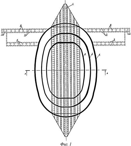 Комплексный способ разработки свит пластов антиклинальных месторождений