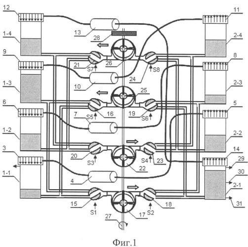 Большеобъемная тепловая машина с внешним подводом тепла